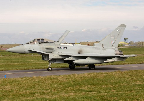© Niall Paterson - RAF Typhoon FGR4 - Joint Warrior 16-1