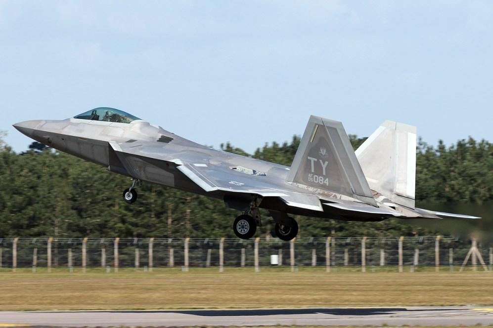 © Mark Kwiatkowski - Lockheed F-22A Raptor 05-4084 - F-22 Raptor Deployment to RAF Lakenheath