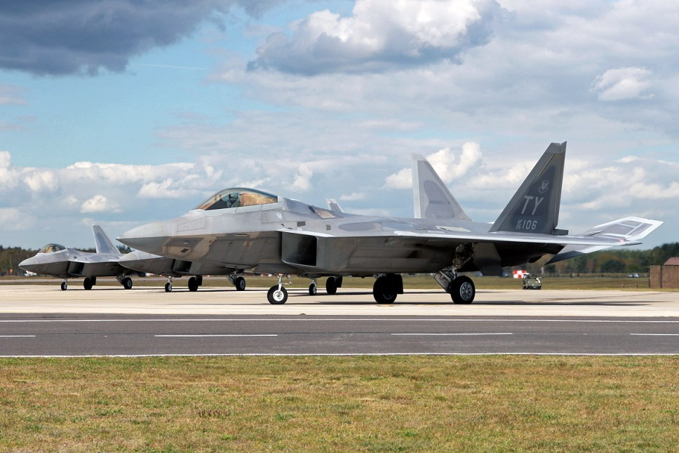 © Mark Kwiatkowski - Lockheed F-22A Raptor 05-4106 - F-22 Raptor Deployment to RAF Lakenheath