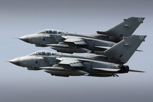 © Jamie Ewan - RAF Panavia Tornado GR4 ZD792 and ZG791 - Joint Warrior 16-1