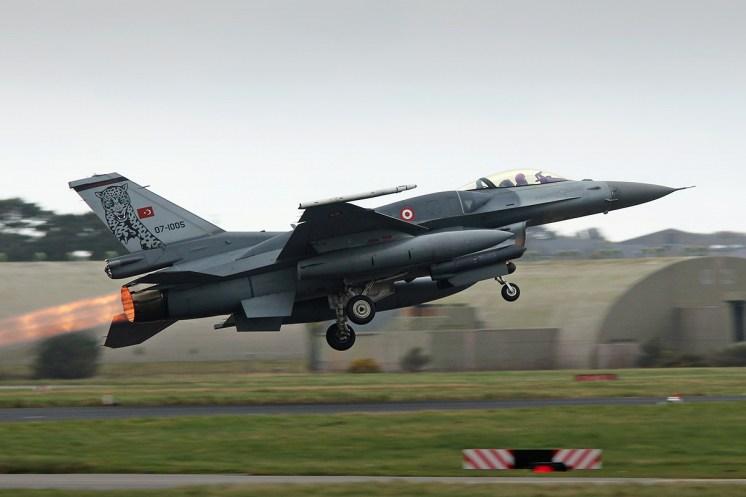 © Jamie Ewan - TuAF Lockheed Martin F-16C 07-1005 - Joint Warrior 16-1