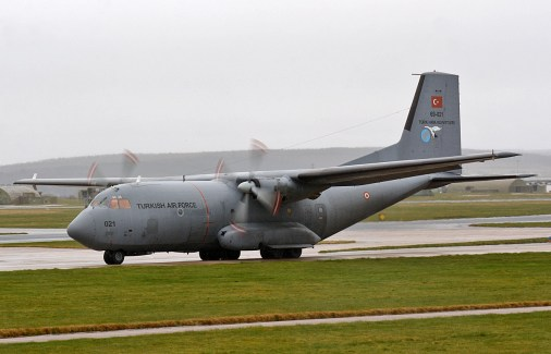 © Niall Paterson - TuAF C-160 Transall - Joint Warrior 16-1