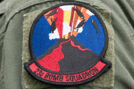 © Duncan Monk - 23rd BS Patch - Ex BALTOPS / Saber Strike 2016