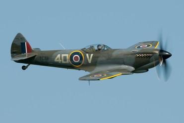 © Duncan Monk - RAF BBMF Spitfire Mk XVI TE311 - Shuttleworth Fly Navy Air Show 2016