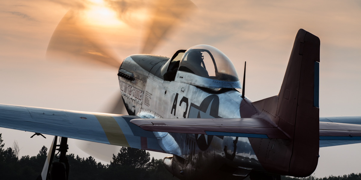 © Harry Measures - P-51D Mustang 44-72035 G-SIJJ - 'Tall in the Saddle' Unveil