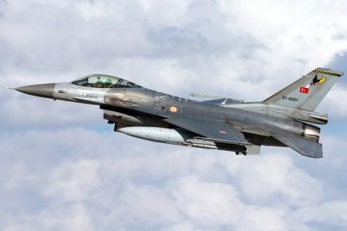 © Mark Kwiatkowski - TuAF F-16C 91-0001 - Anatolian Eagle 2016