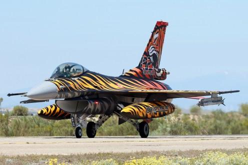 © Mark Kwiatkowski - TuAF F-16C 92-0014 - NATO Tiger Meet 2016