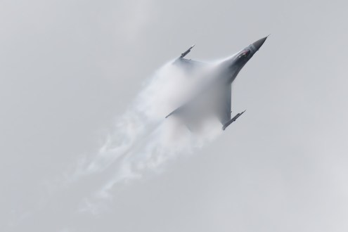 © Michael Lovering - Polish Air Force F-16C - Royal International Air Tattoo 2016