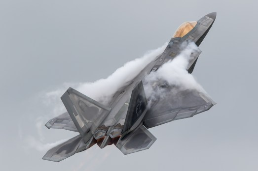© Adam Duffield - USAF F-22A Raptor - Royal International Air Tattoo 2016
