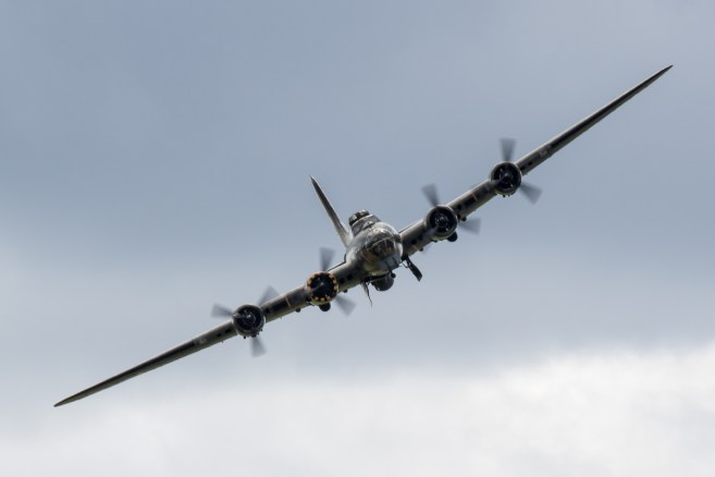 © Adam Duffield - Boeing B-17G 'Sally B' - RNAS Yeovilton Air Day 2016