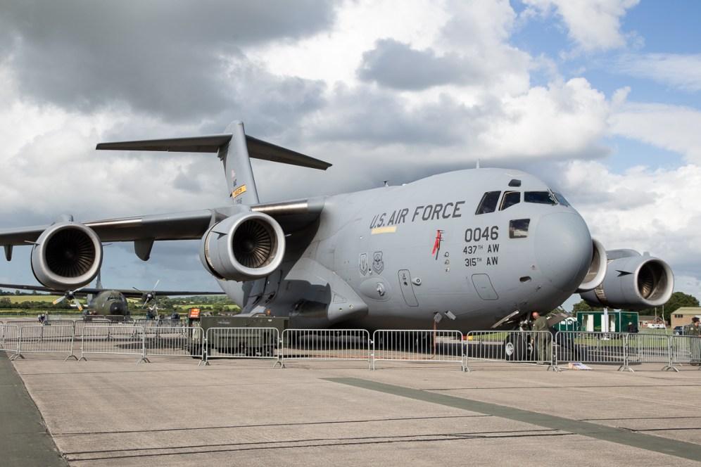 © Adam Duffield - Boeing C-17 Globemaster - RNAS Yeovilton Air Day 2016