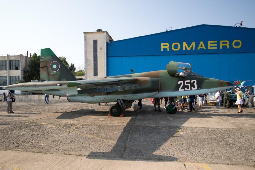 © Michael Lovering - Sukhoi Su-25K (253), Bulgarian Air Force - Bucharest International Air Show 2016