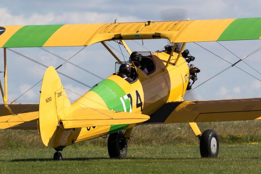 © Adam Duffield - Boeing Stearman - Old Buckenham Airshow 2016