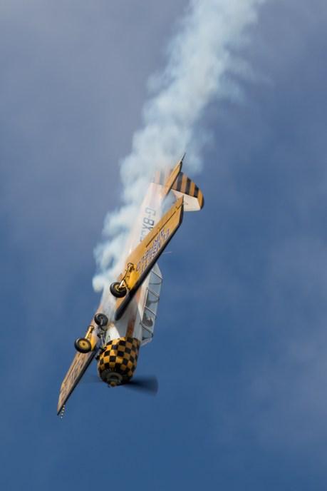 © Adam Duffield - Yak 52 G-BXJB - Old Buckenham Airshow 2016