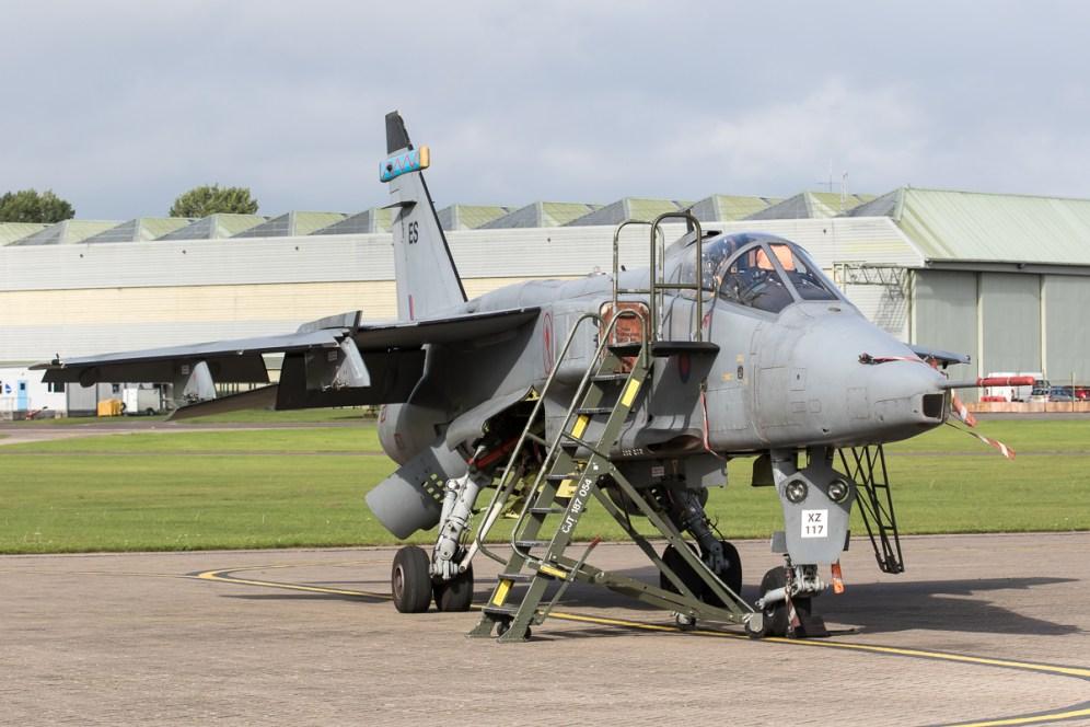 © Adam Duffield - SEPECAT Jaguar GR3 XZ117/ES - RAF Cosford Jaguars final prowl