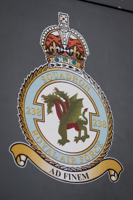 © Adam Duffield - 238 Sqn Crest - RAF Cosford Jaguars final prowl