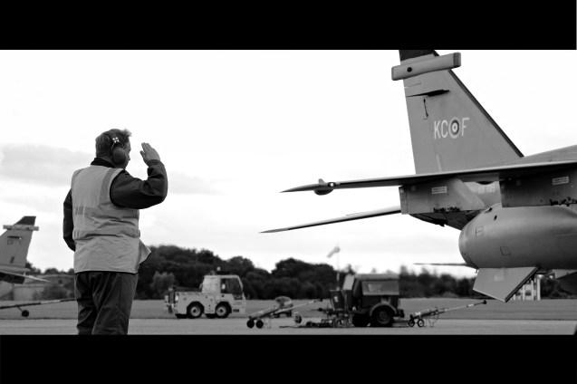 © Jamie Ewan - SEPECAT Jaguar GR3 XX725 - RAF Cosford Jaguars final prowl