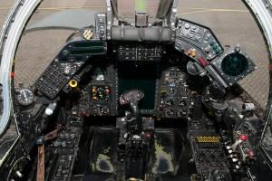 © Duncan Monk - SEPECAT Jaguar GR3 Cockpit - RAF Cosford Jaguars final prowl
