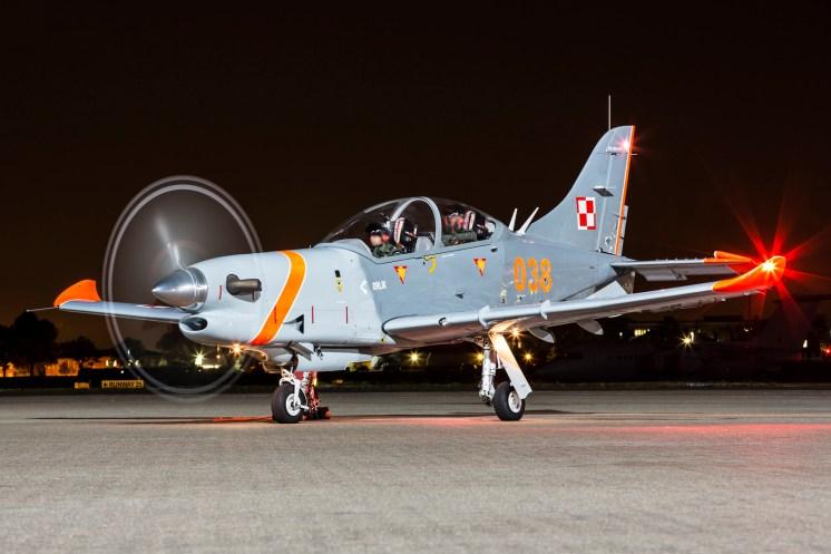 © Jamie Ewan - Sily Powietrzne PZL-130TC-II Turbo Orlik 038 - Northolt Nightshoot XXI