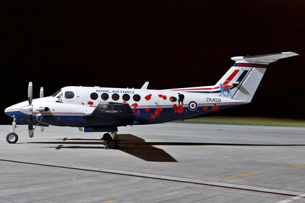 © Mark Kwiatkowski - Royal Air Force Hawker Beechcraft B200GT King Air - Northolt Nightshoot XXI