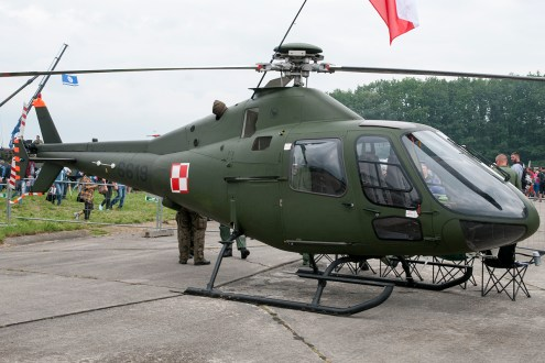 © Duncan Monk - Polish Air Force PZL SW4 Puszczyk 6619 - Ostrava NATO Days 2016