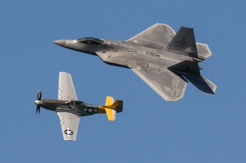 ©Adam Duffield - USAF Heritage Flight - San Francisco Fleet Week 2016