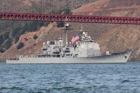 ©Adam Duffield - USS Mobile Bay (CG-53) - San Francisco Fleet Week 2016