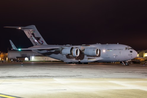 © Adam Duffield - Boeing C-17A Globemaster ZZ176 - RAF Brize Norton Nightshoot
