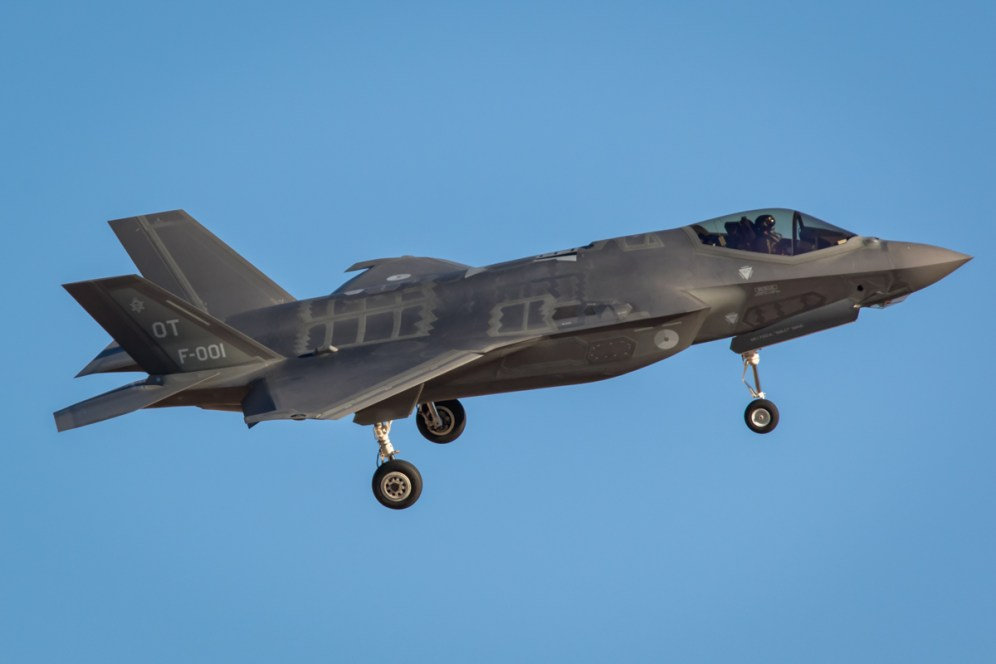 © Paul Smith - Lockheed Martin F-35A Lighting II F-001 - Nellis Aviation Nation 2016