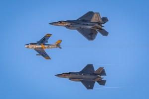 © Paul Smith - Aviation Nation USAF Heritage Flight - Nellis Aviation Nation 2016