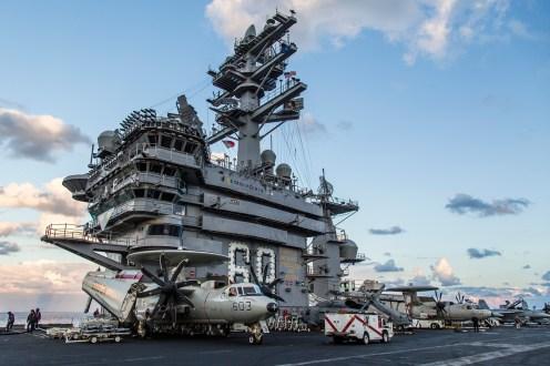 © Ben Montgomery - USS Dwight D Eisenhower