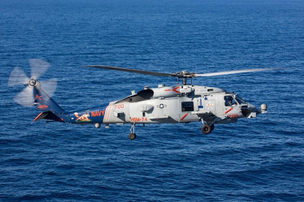 © Ben Montgomery - Sikorsky MH-60R Seahawk 168090 - USS Dwight D Eisenhower