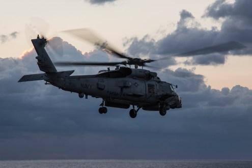 © Ben Montgomery - Sikorsky MH-60R Seahawk 168110 - USS Dwight D Eisenhower