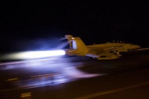 © Ben Montgomery - Boeing F/A-18F Super Hornet 166667 - USS Dwight D Eisenhower