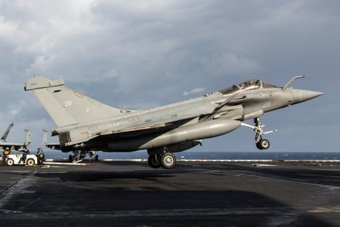 © Ben Montgomery - Dassault Rafale M 28 - USS Dwight D Eisenhower