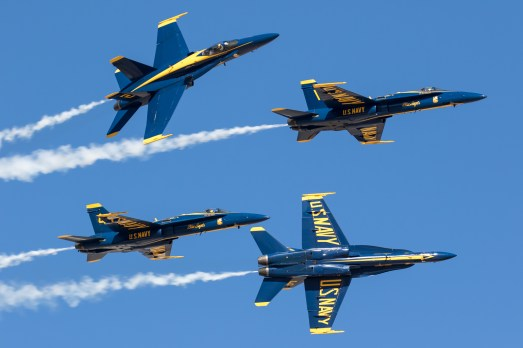 © Adam Duffield - Blue Angels in the USA - AeroResource 2016 Highlights