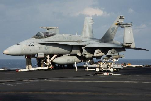 © Duncan Monk - Boeing F/A-18C Hornet 165312 - USS Dwight D Eisenhower