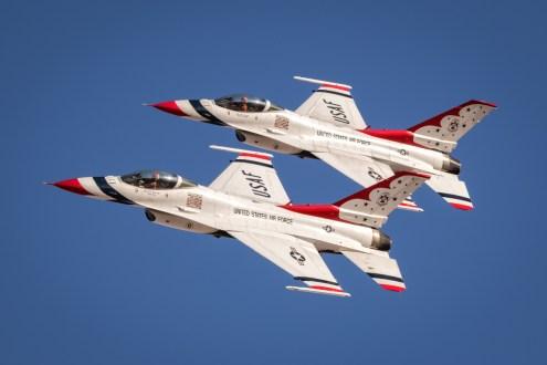 © Paul Smith - USAF Thunderbirds - Nellis Aviation Nation 2016