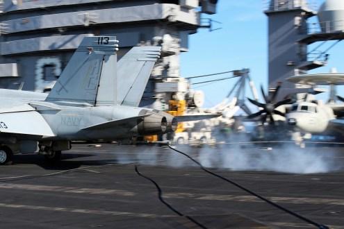 © Jamie Ewan - Boeing F/A-18F Super Hornet 166454 - USS Dwight D Eisenhower