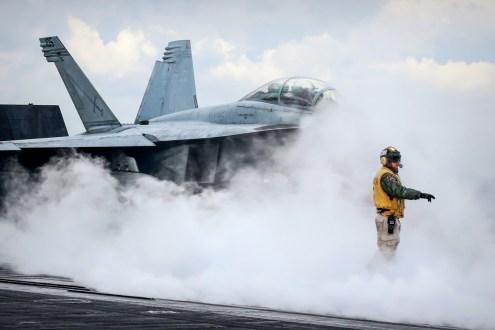 © Jamie Ewan - Boeing F/A-18F Super Hornet 166667 - USS Dwight D Eisenhower