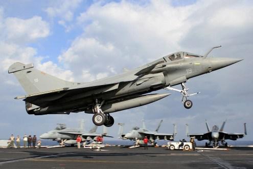 © Jamie Ewan - Dassault Rafale M 19 - USS Dwight D Eisenhower