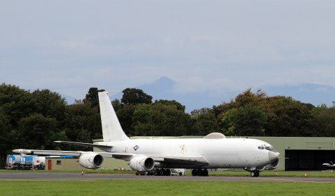 © Kevin Paterson - E-6B Mercury at Prestwick - AeroResource 2016 Highlights