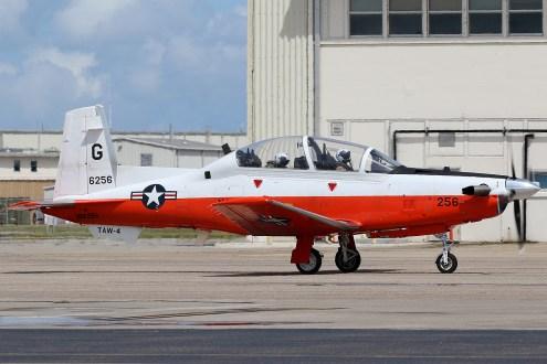 ©Mark Forest - Beechcraft T-6B Texan II 166256 TAW-4 - US Naval Air Training Command