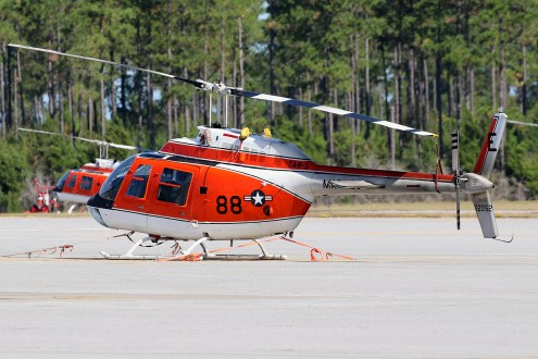 ©Mark Forest - Bell TH-57C Sea Ranger 162052 TAW-5 - US Naval Air Training Command
