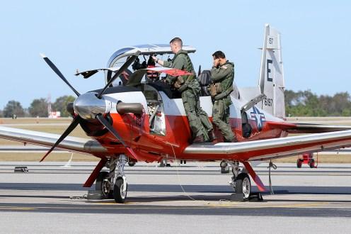 ©Mark Forest - Beechcraft T-6B Texan II 166197 TAW-5 - US Naval Air Training Command