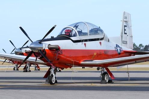 ©Mark Forest - Beechcraft T-6B Texan II 166226 TAW-5 - US Naval Air Training Command