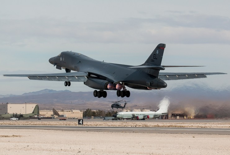 © Kevin Bell - USAF B-1B 85-0084 - Red Flag 17-1
