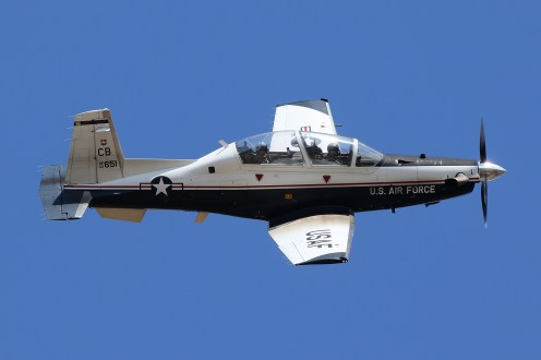 © Mark Forest - Raytheon Beech T-6A Texan II 02-3651 - US Air Force Air Education and Training Command