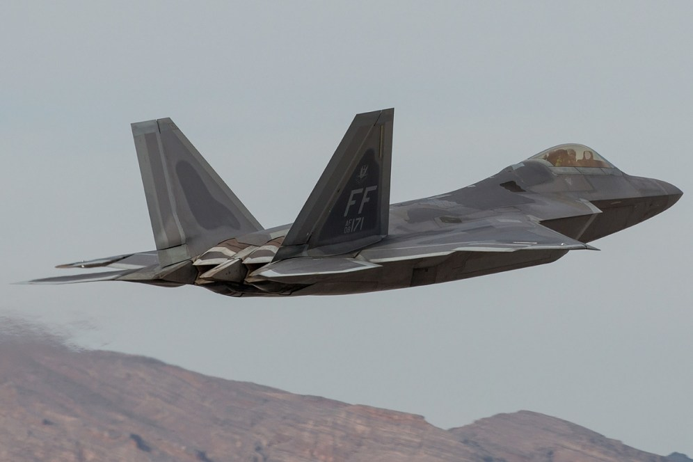 © Kevin Bell - USAF F-22A 08-4171 - Red Flag 17-1