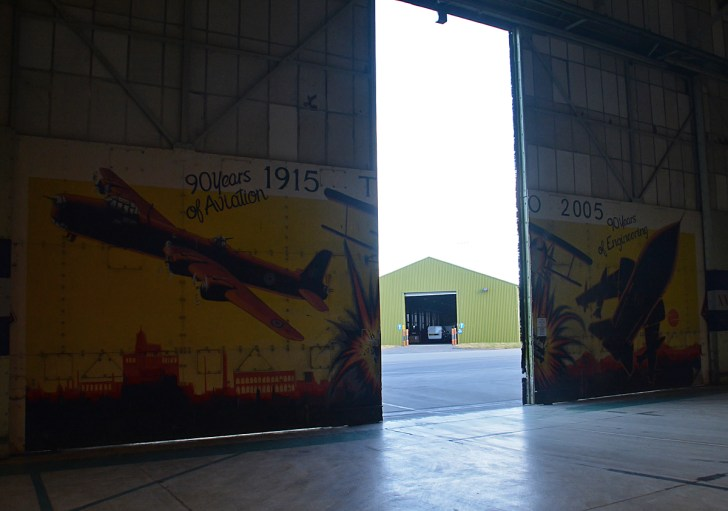 © Niall Paterson - XV(R) Squadron Hangar Door - XV(R) Squadron Photo Event